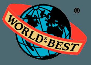 Worlds Best Gummivarefabrik logo