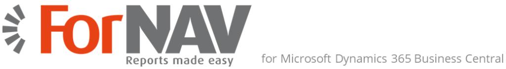 ForNAV - Rapportdesigner til Dynamics 365 Business Central