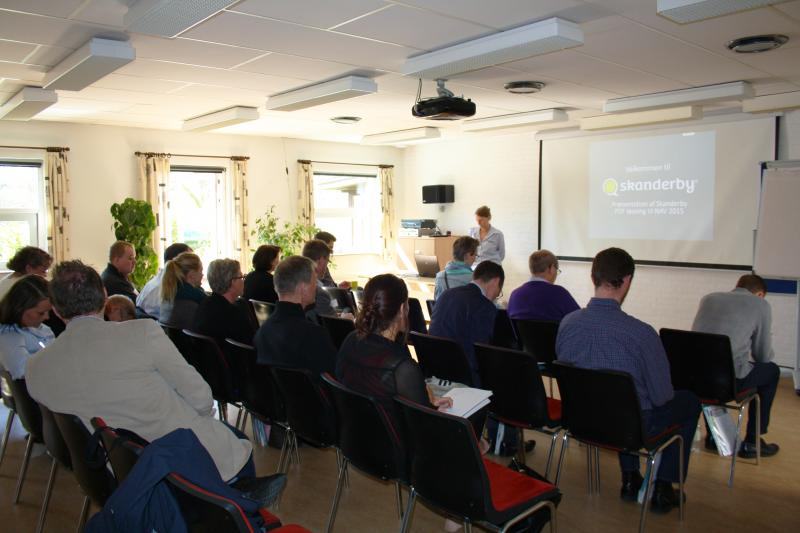 Skanderby seminar ERFA 2015